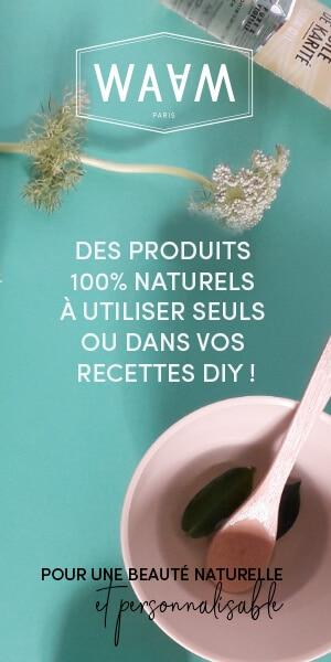 Produits naturels de beauté